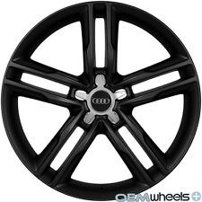 "19"" BLACK S5 SLINE STYLE WHEELS FITS AUDI A5 S5 RS5 B8 8T COUPE CABRIOLET RIMS"