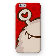 Cute Little Monster iPhone Cover by Madotta | Available for all iPhones and  Samsung Galaxy S devices. Printed in the UK. Worldwide shipping available. Designer iPhone 7 Plus Cases and Covers #madotta See more at https://madotta.com/collections/all/?utm_term=caption+link&utm_medium=Social&utm_source=Pinterest&utm_campaign=IG+to+Pinterest+Auto