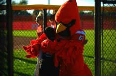 Coop the Cardinal at Community Youth Day