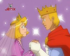Clover with the boy who looks like The King Cartoon Wallpaper Iphone, Beauty Queens, Spy, Childhood Memories, Animation, Clover Totally Spies, Anime, Fictional Characters, Fan Art