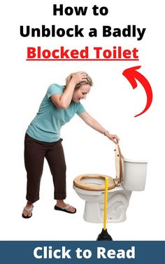 Read some of the best ways to unblock a badly blocked toilet. blocked toilet hacks | blocked toilet | blocked toilet tips | blocked toilet drain | #blockedtoilethacks #blockedtoilet #blockedtoilettips #blockedtoiletdrain Toilet Drain, Clogged Toilet, Toilet Cleaning, Bathroom Cleaning, Local Plumbers, Bathroom Hacks, Cleaning Hacks, Remedies, Reading