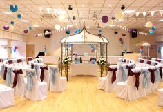 Blue and Burgundy Themed Wedding - August 2014 at Unison Croyde Bay