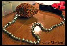 Cala Marjani ~ Belly Dance: Boy, oh Voi! How to make veil poi.