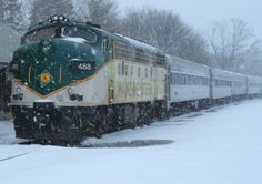 The Snow Train Photograph