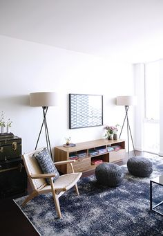 home built by Lennar with interior design by Laurel & Wolf at The San Francisco Shipyard. / sfgirlbybay
