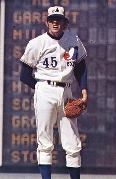 Steve Rogers of the Expos. Led the team in most major pitching catergories during the Mlb Uniforms, Baseball Uniforms, Baseball Jerseys, Montreal, Expos Baseball, Best Baseball Player, Mlb The Show, Swing