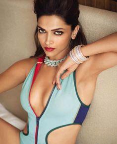 Deepika Padukone's sexy shoot for Vogue India June 2014. #Style #Bollywood #Fashion #Beauty #Sexy