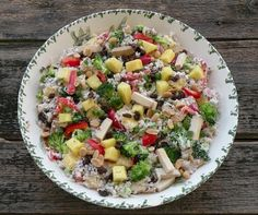 Pineapple Rice Salad