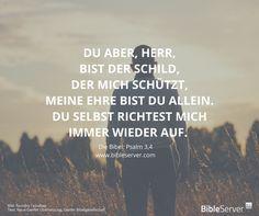 Gott reicht dir die Hand und zieht dich wieder hoch.   Bibelvers im Kontext nachlesen auf #BibleServer   Psalm 3,4