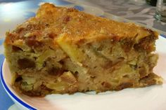Easy Cake : Bread pudding with apples, Baking Recipes, Dog Food Recipes, Cake Recipes, Dessert Recipes, Bread Pudding With Apples, Cheesecake Factory Recipes, Biscuits, Good Food, Yummy Food