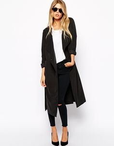 Casual Chic || Duster Coat