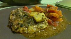 prosty przepis ryba duszona w sosie warzywnym