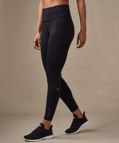 Sport outfit gym pants lulu lemon ideas for 2019 - Bag, shoes, clothes woman shops Leggings Mode, Leggings Fashion, Black Leggings, Sporty Outfits, Cute Outfits, Fashion Outfits, Fashion Clothes, Lululemon Leggings With Pockets, Outfits