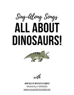 Dinosaur Songs for Circle Time