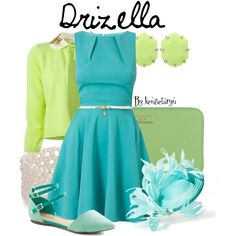 Designer Clothes, Shoes & Bags for Women Cinderella Outfit, Cinderella Disney, Anastasia And Drizella, Disney Dresses, Colored Wedding Dresses, Disneybound, New Wardrobe, Dress To Impress, Summer Dresses