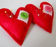 Heart Pin Cushions