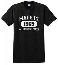 Made in 1972 All Original Parts Birthday Distressed Look T-Shirt 50th Birthday Decorations, 90th Birthday Gifts, Birthday Gifts For Grandma, Birthday Shirts, Navy Birthday, Funny Birthday, Birthday Ideas, Grandpa Birthday, Surprise Birthday