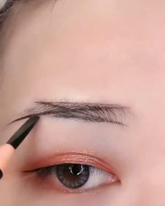 Eyebrow Makeup Tips, Eye Makeup Brushes, Eye Makeup Art, Love Makeup, Skin Makeup, Makeup Inspo, Beauty Makeup, Makeup Makeover, Makeup Tips For Beginners