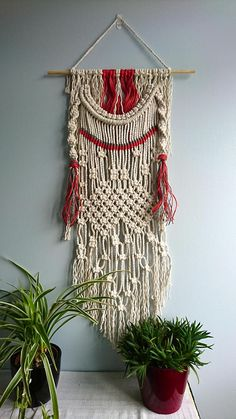 The Traveller macrame wall hanging