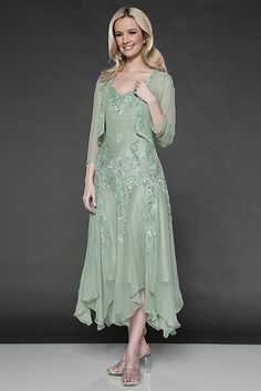 mother of the bride dresses in sage green - Google Search