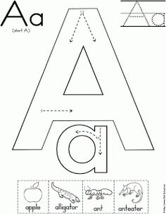 Alphabet Pages, as well as Alphabet Books - FREE Printables