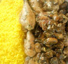 Mushroom & Chicken - Pollo con setas  http://lacocinadeile-nuestrasrecetas.blogspot.com.es/2012/10/pollo-facil-con-portobellos-o.html