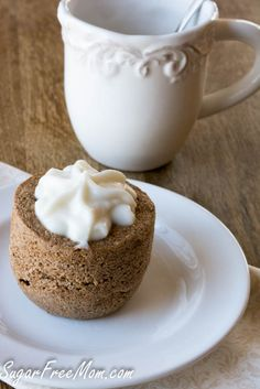 Flax flour, cinnamon roll -- gluten free, grain free, dairy free, sugar free.