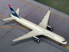 "1/400 Gemini Jets US Airways Boeing 757-200w Registration: N202UW GJUSA1386 SPECIAL ORDER - Item usually ships in 5-10 days. Length 4.66"" Wingspan 3.74"" Each model is very collectible and all regular"
