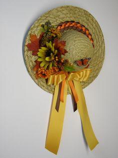 Decorative Wall Hat Straw hat Fall
