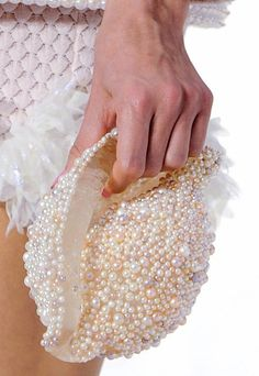 Chanel shell clutch. Mermaid chic