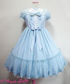 Sugar Sweetミニ袖ジャンパースカート