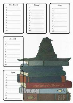 Harry Potter Printables, Theme Harry Potter, School Timetable, Draco Malfoy, Diy Art, Bookmarks, Stationary, Life Hacks, Easy Diy