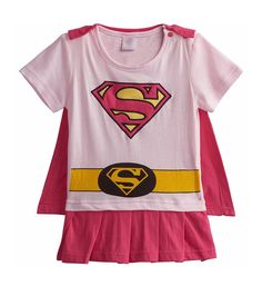 Rush Dance One Piece Super Hero Baby Supergirl Romper Onesie Suit Light Pink & Pink (Supergirl)) Cute superhero onesies Wear them to anywhere, anytime Perfect for photoshoot! Reinforced Three Snap Closure For Secure Fit Exclusively by Rush Dance Dragon Ball Z Halloween Costumes, Superman Halloween Costume, Girl Superhero Costumes, Baby Superhero, Super Hero Costumes, Baby Costumes, Halloween Cosplay, Baby Boy Romper, Baby Girl Newborn