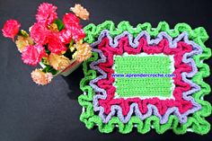 barred crochet point maze carpets learn edinir-crochet crochet Store Free Shipping course youtube pinterest facebook