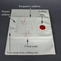 "I have sealing wax, and I always wondered how to create an old-fashioned letter where the ""envelope"" was built in."