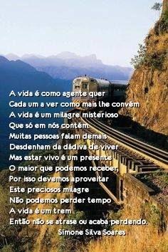 A vida é um trem