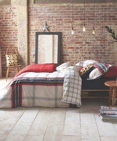 Cute bedroom New York apartment