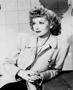 Lucille Ball photographed by Fred Hendrickson, 1941