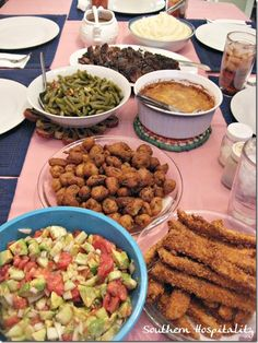 Hey, Ma! What's for supper?  A Southern Home-Cooked Meal! ☀CQ #southern #recipes