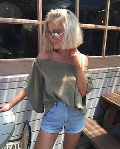 @laurajadestone looking cute Hostage Shirt - Khaki