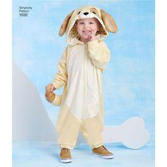 Muster für Kleinkind Größe Plüsch Tier Halloween-Kostüme nähen, Kostüme, Dress-Up   Muster-Größen enthalten: Kleinkinder Größen 1/2 bis 4   (ca. 6 Mos bis 4 Jahre)  Die Messungen für dieser Größenordnung sind:  Childs Brust: 19 bis 23  Childs Taille: 19 bis 21  Ca. Höhe: 28 bis 40     Diese flauschige Tierkostüme werden halten Sie Ihr Kind warm und glücklich dieses Halloween.   DIESES TOLLE MUSTER UMFASST:   Einhorn Kostüm mit Flügeln  Hund-Kostüm  Katze Kostüm  Pinguin-Kostüm   DESIGNER...