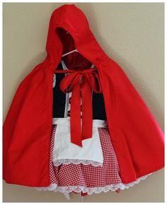 Mini Tutorial: Red Riding Hood Cape