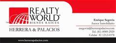 Asesor inmobiliario RW:  Soy asesor en bienes raíces y en este momento ten...