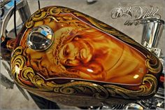 awesome airbrushed tank