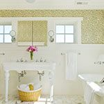 I like the sink and all the white! Cottage Bathroom - Photos - BHG.com