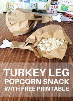 Turkey Leg Popcorn S