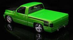 "'95 Dodge Ram VTS Model - AAR Style Hood, 20"" SRT8 Wheels"