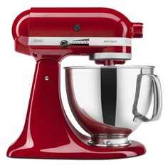 Stand Mixer - Empire Red