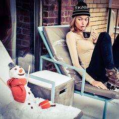 The Best Snow Snaps From Fashion Insiders - Gallery - Style.com