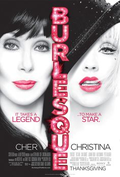 Burlesque is a 2010 musical film directed and written by Steven Antin and starring Cher and Christina Aguilera. Description from film2k.org. I searched for this on bing.com/images